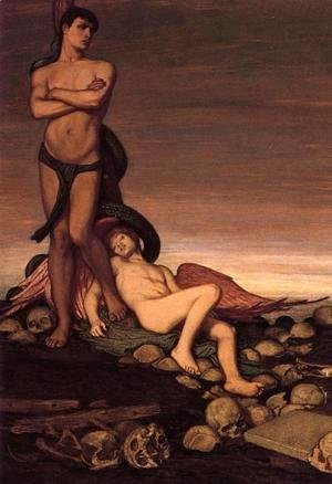 Elihu Vedder - The Last Man