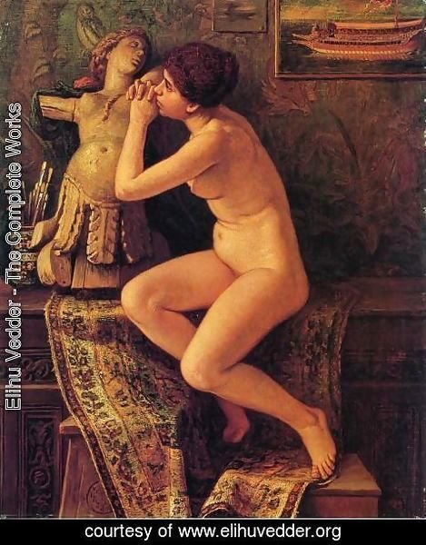 Elihu Vedder - The Venetian Model