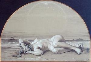 Elihu Vedder - The Dead Medusa