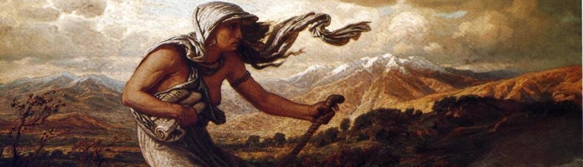 Elihu Vedder - The Cumaean Sibyl, 1876