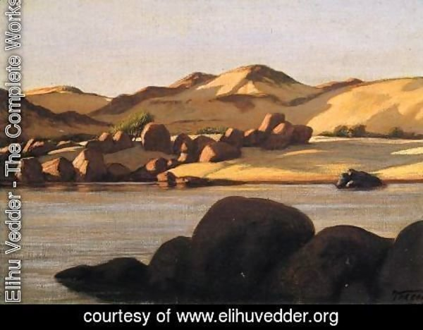 Elihu Vedder - Egyptian Nile