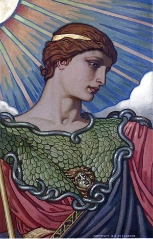 Elihu Vedder - Head of Minerva