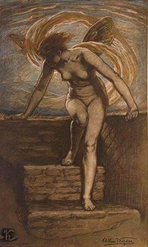 Elihu Vedder - Dawn