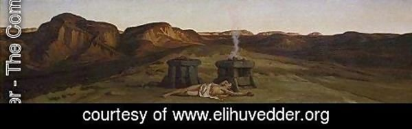 Elihu Vedder - Death of Abel