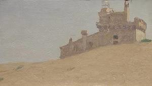 Elihu Vedder - Castle near Perugia