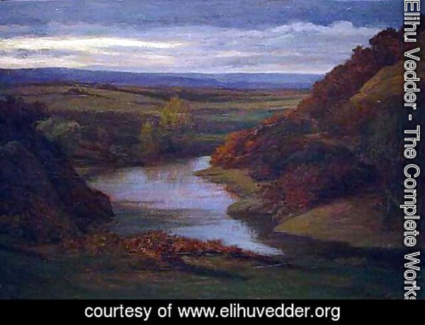Elihu Vedder - Near Orte