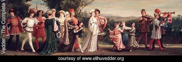 Wedding Procession 1872-1875